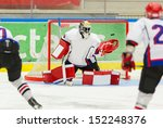 ice hockey goalie | Shutterstock . vector #152248376