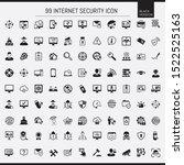 black antivirus and security...   Shutterstock .eps vector #1522525163
