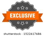 exclusive isolated seal.... | Shutterstock .eps vector #1522617686