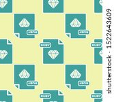 green ruby file document.... | Shutterstock .eps vector #1522643609