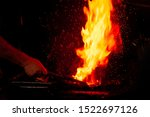 Fire Of Blacksmith In The...