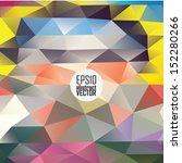 color theme vector abstract... | Shutterstock .eps vector #152280266