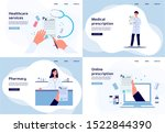 online medical diagnosis and... | Shutterstock .eps vector #1522844390