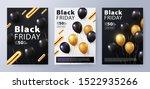 black friday sale set of... | Shutterstock .eps vector #1522935266