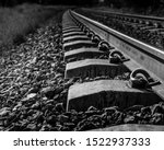 Small photo of the railroad tracks that helped consolidate the city's growth