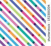 bright color strips on a... | Shutterstock .eps vector #152300204