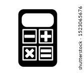 calculator icon vector design...