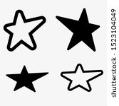 star icons. sparkles  shining...