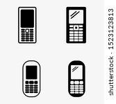 phone icon vector. telephone...