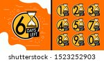 number days left countdown... | Shutterstock .eps vector #1523252903