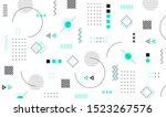 mega set of memphis design... | Shutterstock .eps vector #1523267576