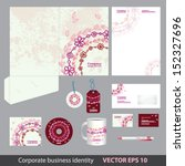 corporate identity kit or... | Shutterstock .eps vector #152327696