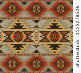 aztec  navajo geometric...   Shutterstock .eps vector #1523278526