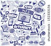 web  internet  computers  ... | Shutterstock .eps vector #152333156