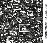web  internet  computers  ... | Shutterstock .eps vector #152333210