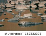 Rocks In A River.