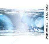 abstract tech binary blue... | Shutterstock .eps vector #152337050