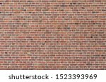 Red Brown Brick Background ...