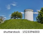 Old White Water Tower On...