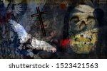 Spiritual Dark Art Composition...