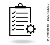 project management vector icon...   Shutterstock .eps vector #1523483330