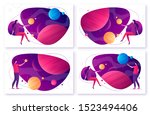 set of different options for... | Shutterstock .eps vector #1523494406