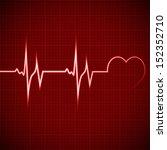 vector illustration heart... | Shutterstock .eps vector #152352710