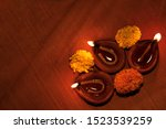 diwali celebration background... | Shutterstock . vector #1523539259