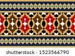 morocco seamless border.... | Shutterstock .eps vector #1523566790