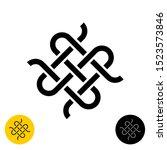 Weave Knots Celtic Style Logo. ...