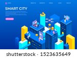 isometric city landing page....