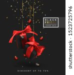 black friday sale. background... | Shutterstock .eps vector #1523725796