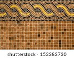 Mosaic In Ancient Style Stacke...
