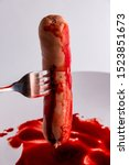 Refusal To Eat Animals Concept...