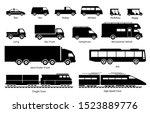 list of commercial landed... | Shutterstock .eps vector #1523889776