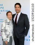 Small photo of LOS ANGELES - OCT 6: Gail Abarbanel, David Schwimmer at The Rape Foundation's Annual Brunch at the Private Estate on October 6, 2019 in Beverly Hills, CA