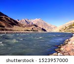 Beautiful River In Spiti Valle...