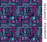abstract seamless pattern for... | Shutterstock .eps vector #1523972150