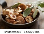 shitake mushrooms ready to be... | Shutterstock . vector #152399486