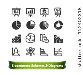 scheme and diagram icons for... | Shutterstock .eps vector #152402318