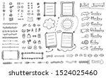 Bullet Journal Doodle Set  ...