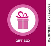 vector gift box illustration... | Shutterstock .eps vector #1524113093