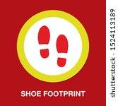 Vector Shoe Footprint...
