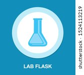 vector science lab flask  ...   Shutterstock .eps vector #1524113219