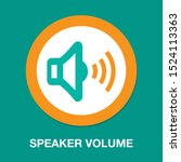 speaker volume icon   audio...   Shutterstock .eps vector #1524113363