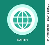 globe icon  earth planet  ... | Shutterstock .eps vector #1524115520