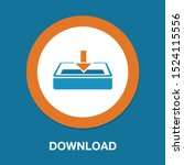 download icon   vector download ... | Shutterstock .eps vector #1524115556