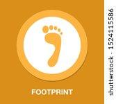 Footprint Symbol  Vector Foot...