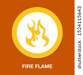 Vector Fire Flame  Fire Sign  ...
