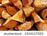 Firewood    Butt Ends Of...